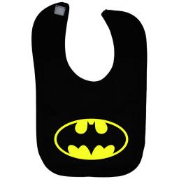 Bat Baby Feeding Bib Newborn-3y Approx Batman