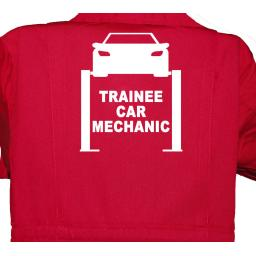 Trainee Car Mechanic Childrens, Kids, Coverall, Boiler suit, Overalls