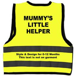 Mummy's Little Helper Hi Visibility Children's Kids Safety Jacket
