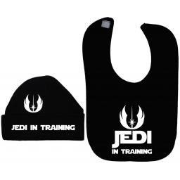 Jedi in Training Baby Feeding Bib & Hat/Cap Star Wars