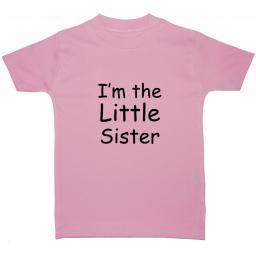 I'm The Little Sister Baby, Children T-Shirt ,Tops