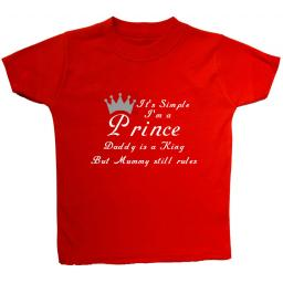 It's Simple I'm a Prince...Baby, Children T-Shirt, Top