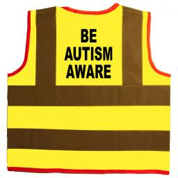 Be Autism Aware Hi Visibility Children's Kids Safety Jacket
