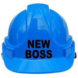 New Boss Children, Kids Hard Hat Safety Helmet Boys Girls