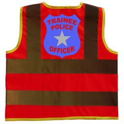 Trainee Police Officer Children's Kids Hi Vis Safety Jacket