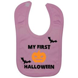 My First Halloween Baby Feeding Bib Newborn-3 Years