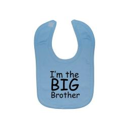 I'm The Big Brother Baby Feeding Bib Newborn-3 Years