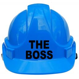 The Boss Children, Kids Hard Hat Safety Helmet