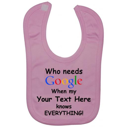 Who Needs Google Personalised Baby Feeding Bibs