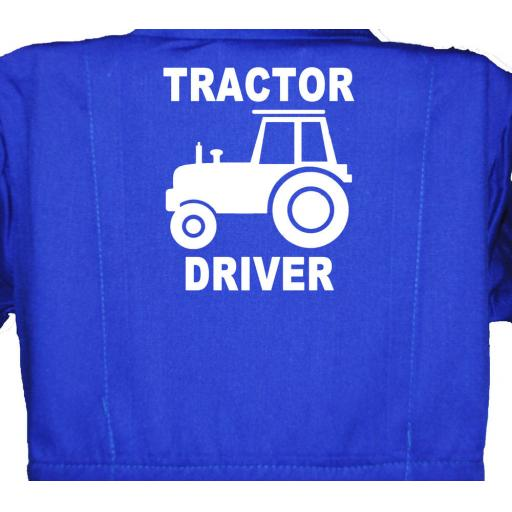 Tractor Driver Childrens, Kids, Coverall, Boiler suit, Overalls