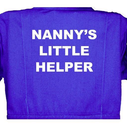 Nanny's Little Helper Childrens, Kids, Coverall, Boiler suit, Overalls
