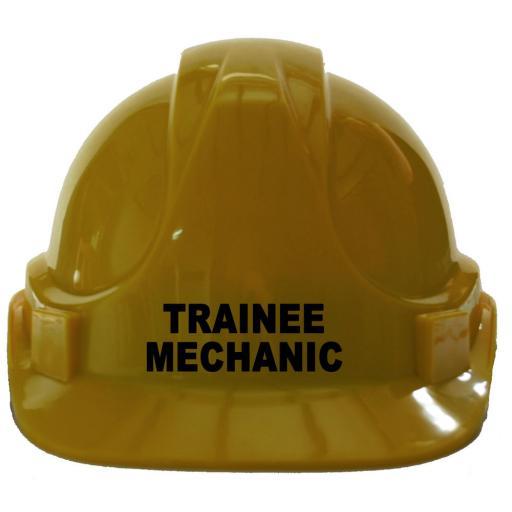 Trainee Mechanic Children Hard Hat Safety Helmet Car