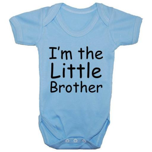 I'm The Little Brother Baby Grow, Bodysuit, Romper, Vest