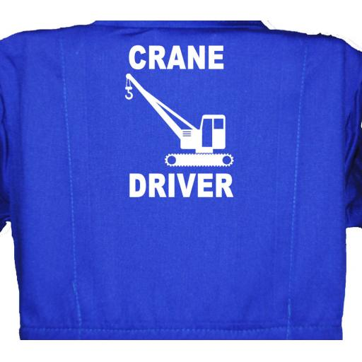Crane Driver Childrens, Kids, Coverall, Boiler suit, Overalls