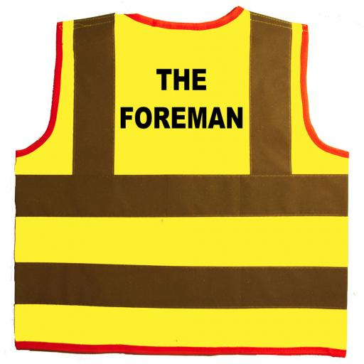 The Foreman Hi Visibility Children's Kids Safety Jacket