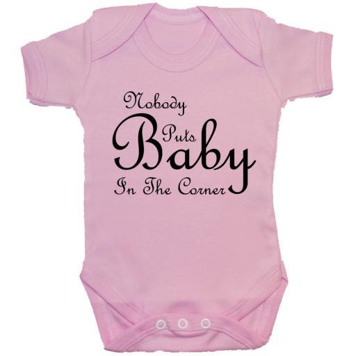 Nobody Puts Baby in the Corner Grow, Bodysuit, Romper, T-Shirt