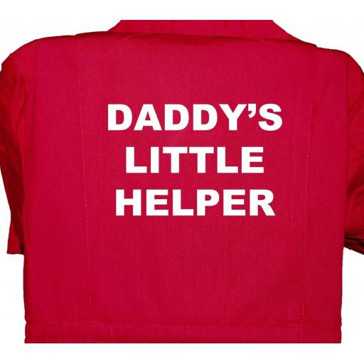 Daddy's Little Helper Childrens, Kids, Coverall, Boiler suit, Overalls