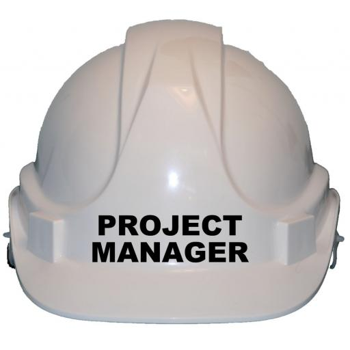 Project Manager Children Kids Hard Hat Safety Helmet