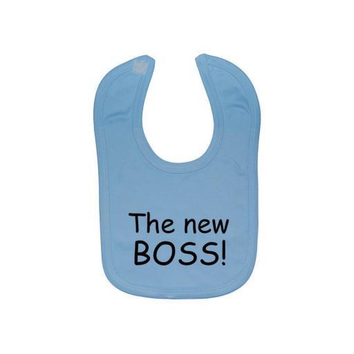 The New BOSS! Baby Feeding Bib Newborn-3 Years