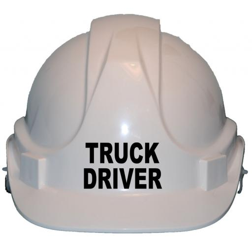 Truck Driver Children, Kids Hard Hat Safety Helmet