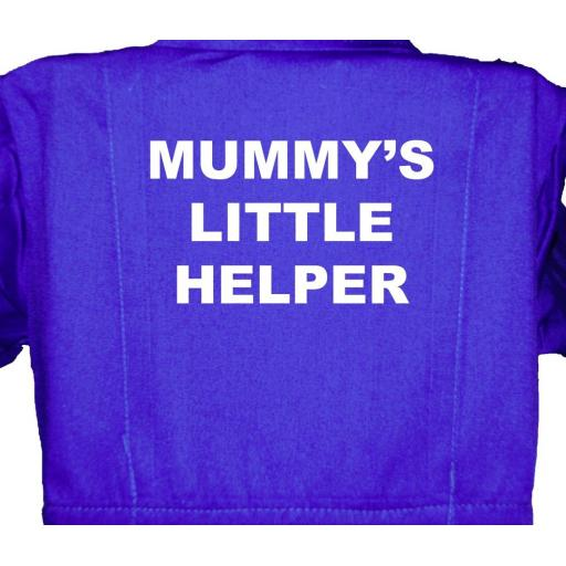 Mummy's Little Helper Childrens, Kids, Coverall, Boiler suit, Overalls