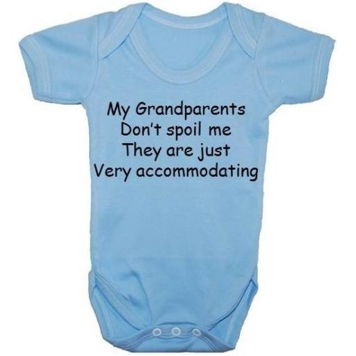 My Grandparents Don't Spoile Me...Baby Grow, Bodysuit, Romper