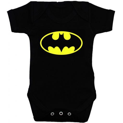 Bat Baby Grow, Bodysuit, Romper, Vest, T-Shirt Batman