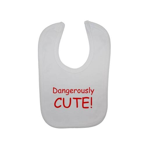 Dangerously Cute Baby Feeding Bib Newborn-3 Years