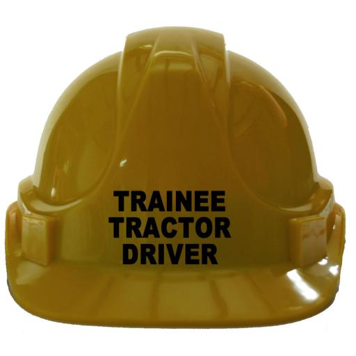 Trainee Tractor Driver Children, Kids Hard Hat Safety Helmet