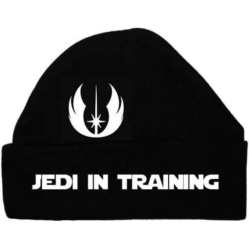 Jedi in Training Baby Beanie Hat, Cap Star Wars
