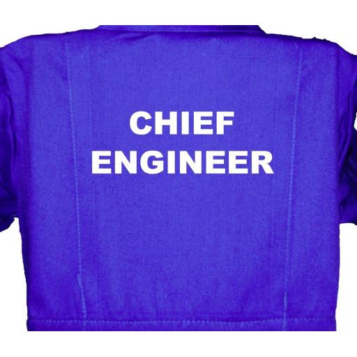 Chief Engineer Childrens, Kids, Coverall, Boiler suit, Overalls