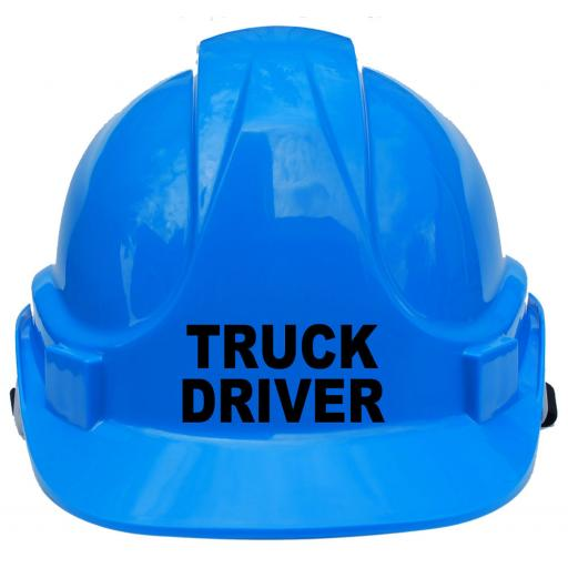 Truck Driver Children, Kids Hard Hat Safety Helmet