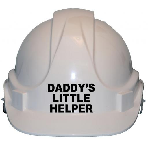 Daddy's Little Helper Childrens Hard Hat Safety Helmet
