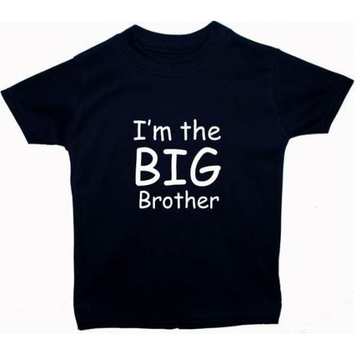 I'm The Big Brother Kids, Children's T-Shirt, Tops