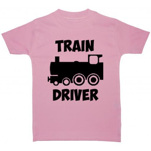 Train Driver Baby, Children T-Shirt, Top