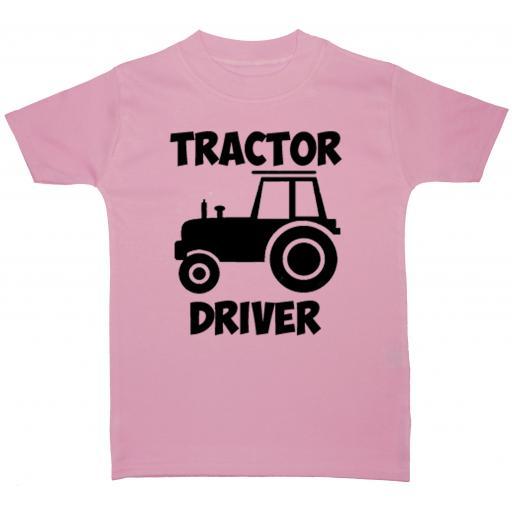 Tractor Driver Baby, Children T-Shirt, Top
