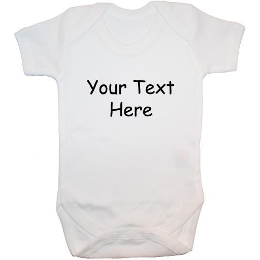 Personalised Bespoke Baby Grow Bodysuit, Romper, Vest