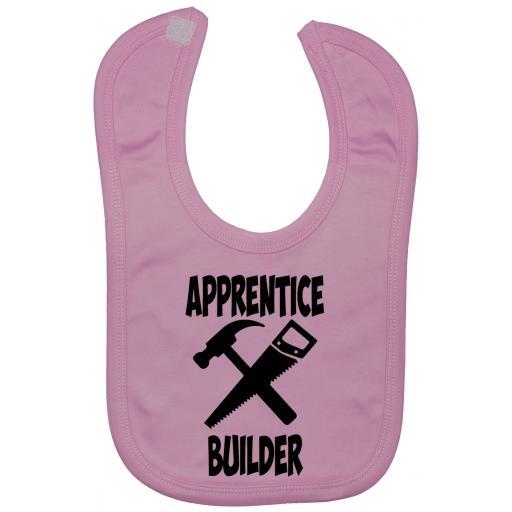 Apprentice Builder Baby Feeding Bib Newborn-3 Yrs