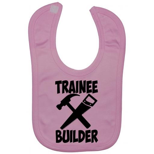 Trainee Builder Baby Feeding Bib Newborn-3 Yrs