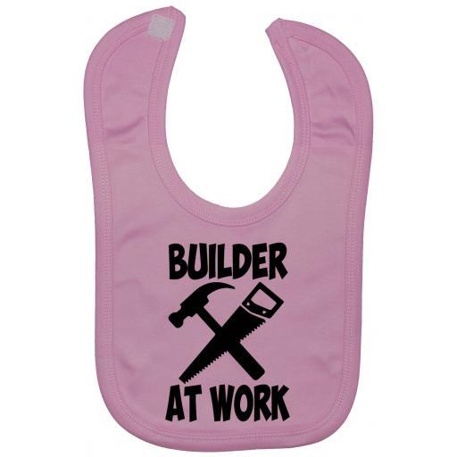 Builder At Work Baby Feeding Bib Newborn-3 Yrs