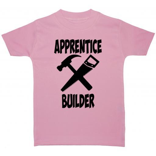 Apprentice Builder Baby, Children T-Shirt, Top
