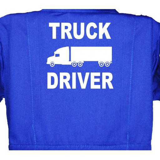 Truck Driver Childrens, Kids, Coverall, Boiler suit, Overalls