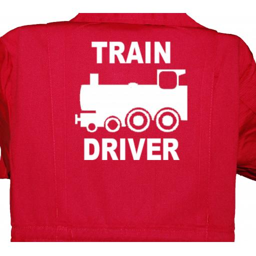 Train Driver Childrens, Kids, Coverall, Boiler suit, Overalls
