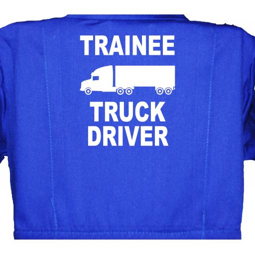 Trainee Truck Driver Childrens, Kids, Coverall, Boiler suit, Overalls