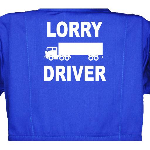 Lorry Driver Childrens, Kids, Coverall, Boiler suit, Overalls