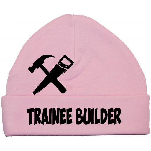 Trainee Builder Baby Beanie Hat, C ap 0-12m