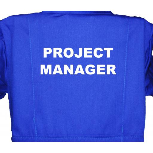 Project Manger Childrens, Kids, Coverall, Boiler suit, Overalls