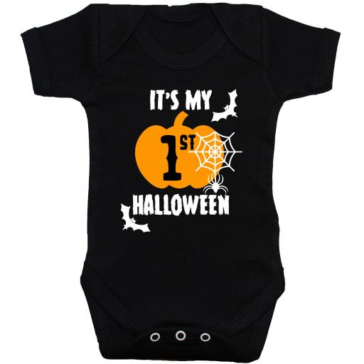 It's My First Halloween Web Baby Grow, Bodysuit, Romper