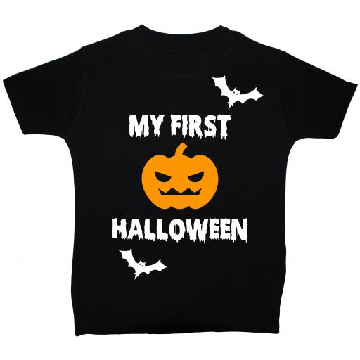 My First Halloween Baby, Children T-Shirt, Top