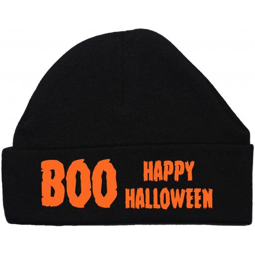 Happy Halloween Baby Beanie Hat, Cap Newborn -12 Months